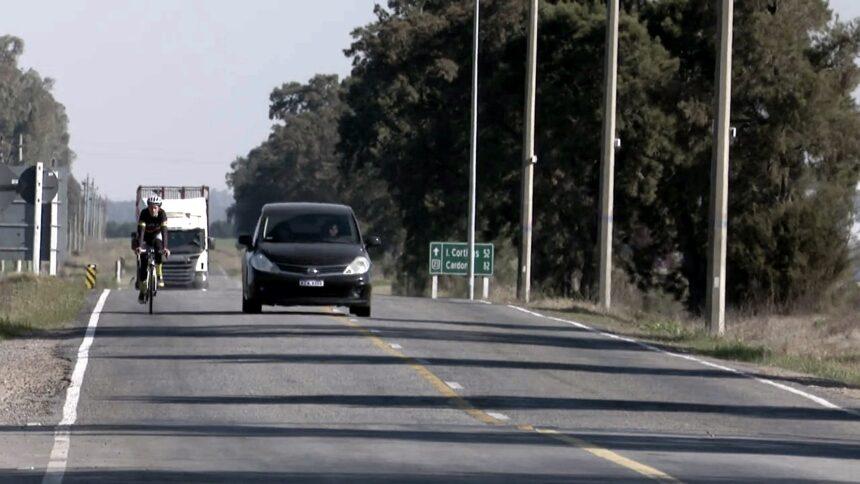 Luis Alberto Heber advierte sobre el mal estado de la ruta 23