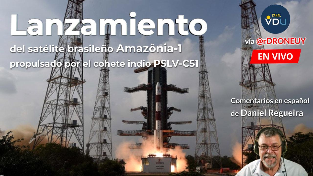 Lanzamiento de Amazonia-1